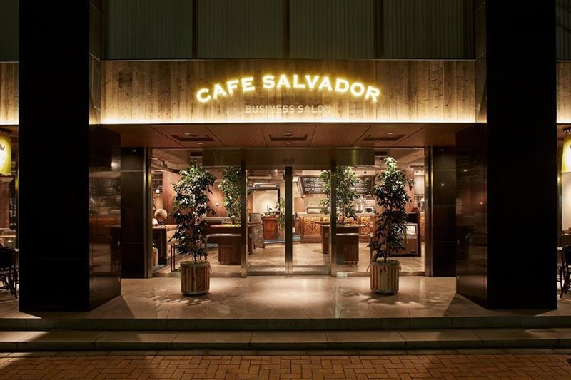 CFABookClub-会場「CAFE SALVADOR Business Salon」外観正面